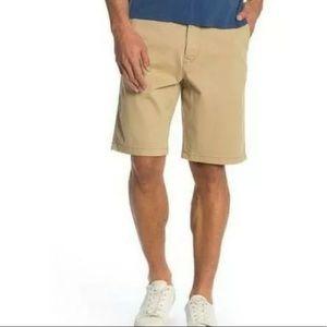 NWT Lucky Brand Tan Saturday Stretch Shorts